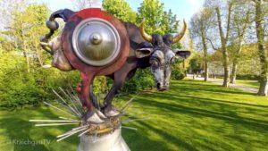 Angelbachtal-Schlosspark-Juergen-Goertz-Kunstwerk-Ochse