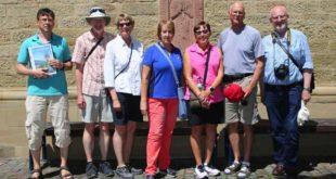 Kanada Besuch Östringen Vorfahren