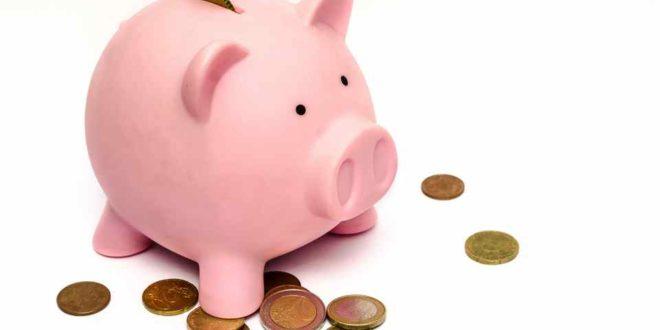 Sparen Geld Fördermittel Sparschwein