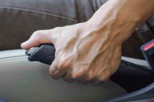 Auto Unfall Bremsen Vollbremsung