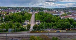 Schlossachse Bruchsal Stadtbahn