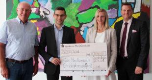 Spendenübergabe Kinderzentrum Maulbronn Blanc & Fischer