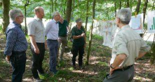 Waldbegehung Wälder Landkreis