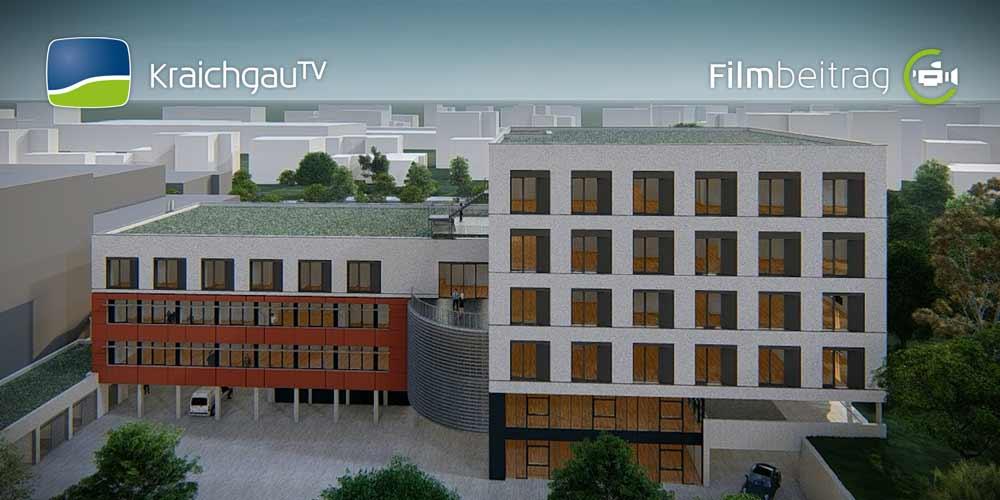 Abriss Rechbergklinik für neues Ärztehaus