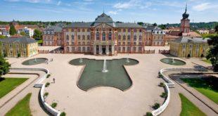 Bruchsal Schloss Bruchsaler Schlossgarten Schlossgarten Bruchsal Architektur