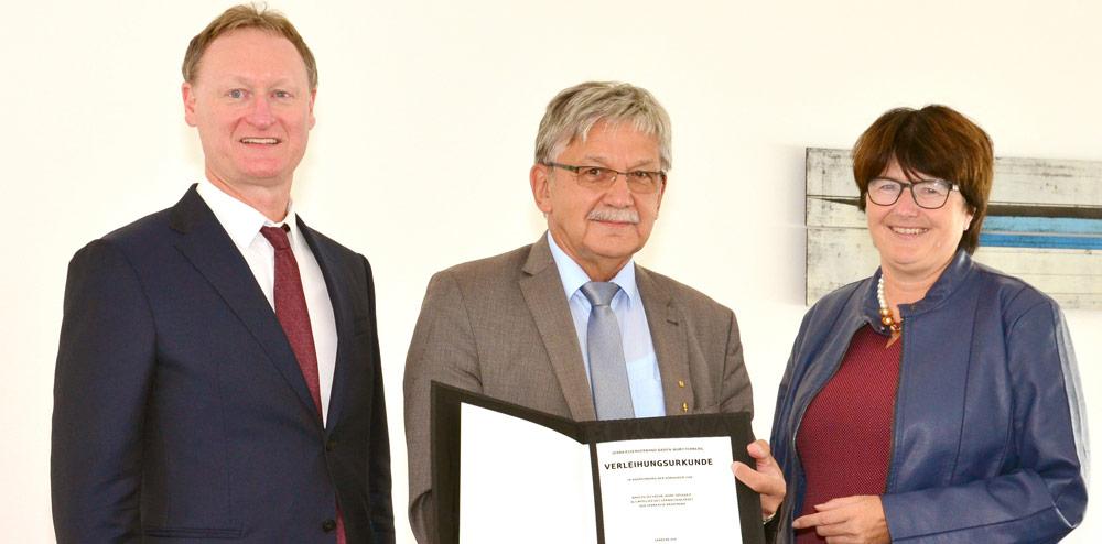 Karl-Heinz-Burgey Sparkassenmedaille Cornelia Petzold-Schick Norbert Grießhaber