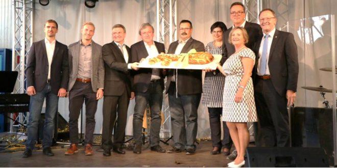 Schlüsselübergabe Freie-Christliche-Gemeinde-Kraichgau-Stromberg