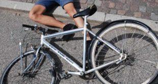 Fahrrad Unfall Verletzung Gefahr