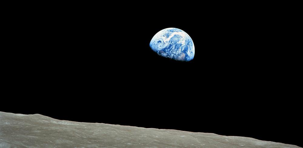Erde, Planet, Mond, Nacht, Sterne, Raumfahrt, Galaxie