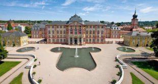 Bruchsal Schloss Luftaufnahme