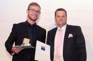 Daniel Satison BLANC & FISCHER Preis Studienleistung Hochschule Karlsruhe