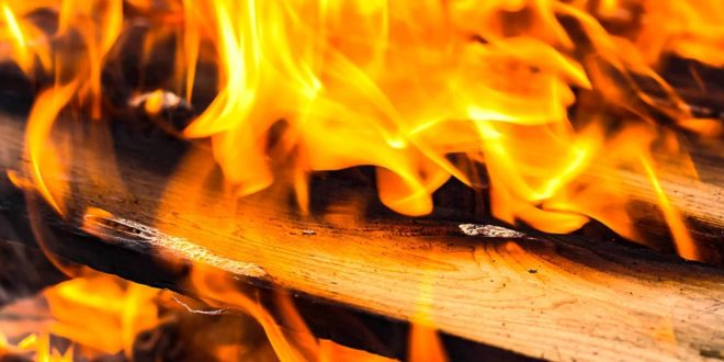 Feuer Holz Brand