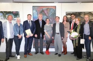 Kunstverein Ausstellungseröffnung Bretten Sparkasse Kraichgau