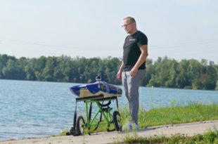 Race 'n' Cut Motorboot Kronau Marco Dümmel Hardtsee RC-Boote