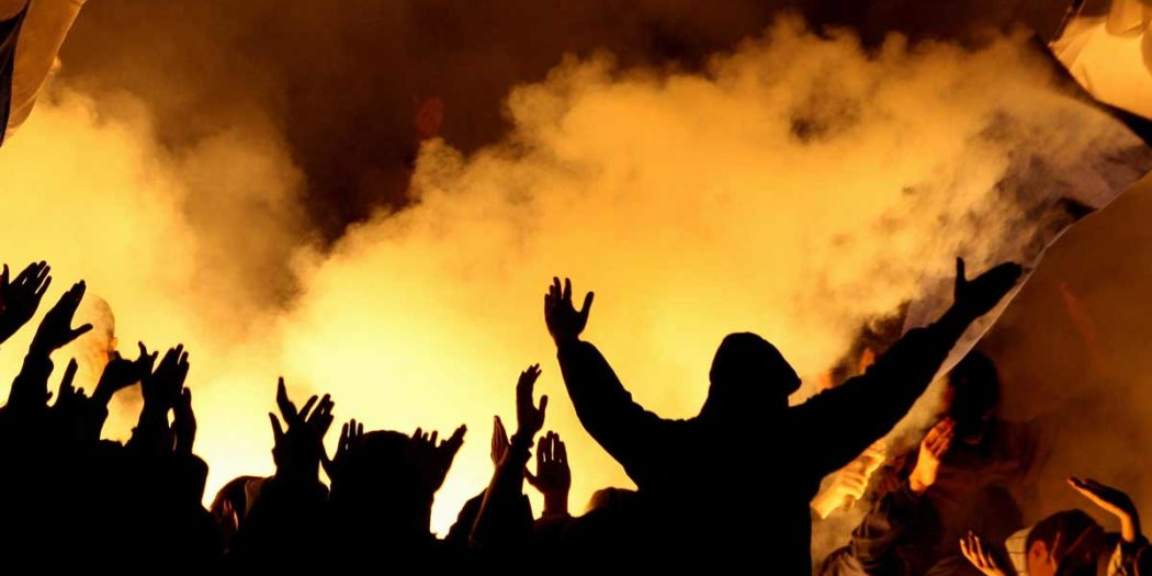 Krawall-Demonstration-Gewalt-Ultras