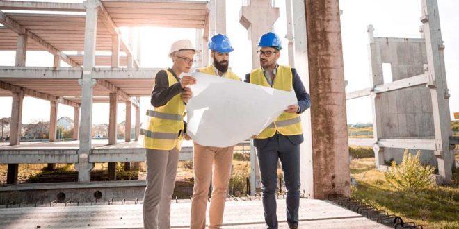 Baubeginn Baustelle Architekt