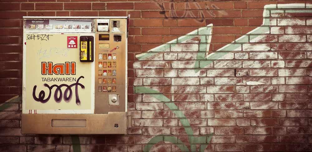 Zigarettenautomat Symbolbild