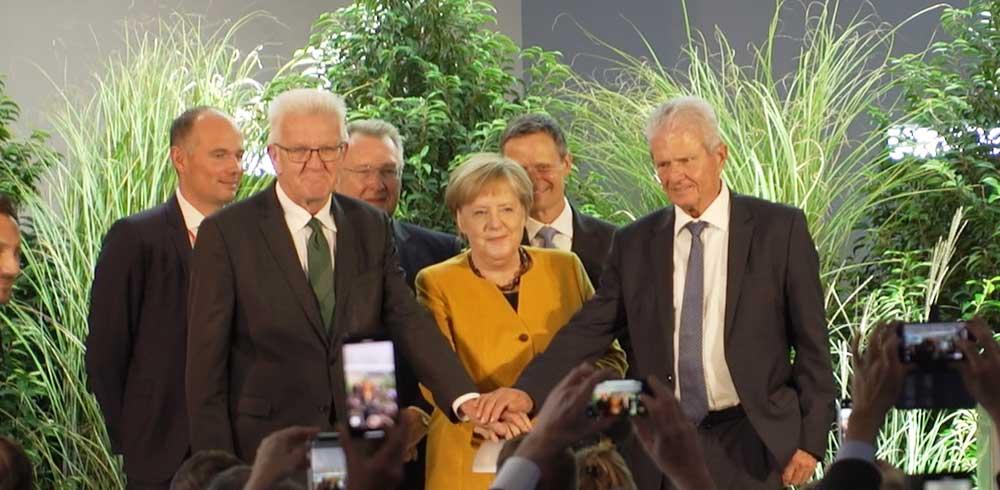 Klimaarena Sinsheim Einweihung