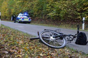 Unfall Tiefenbach Pedelecfahrer