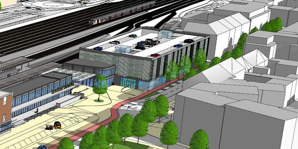 Masterplan Bahnhofsareal Studie