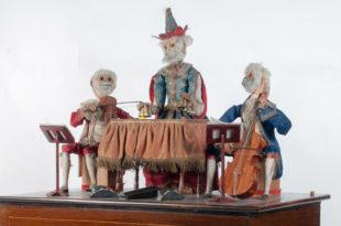 Schloss Bruchsal Museum mechanische Musikinstrumente Affenorgel