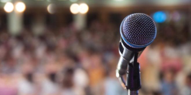 Konzert, Mikro, Mikrofon, Bühne