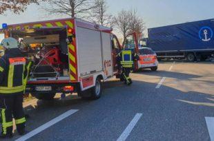 Unfall, Verkehrsunfall, B293