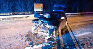 Unfall, Autounfall, Verkehrsunfall, K3574