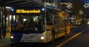 Stadtbus Weihnachtlich
