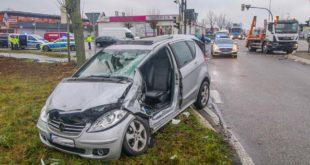 Unfall, Verkehrsunfall, B35