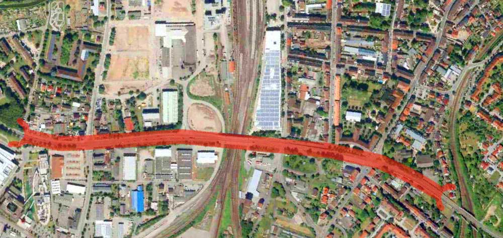 B35 Bruchsal Tunnellösung