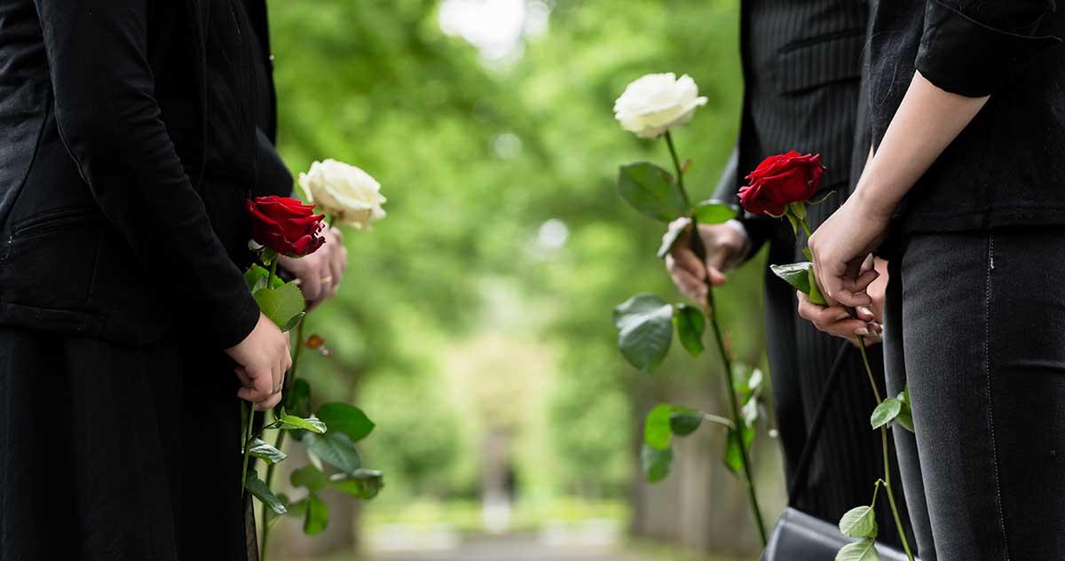 Beerdigung Trauer