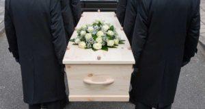 Sarg Beerdigung