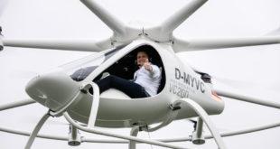 Volocopter Flugtaxi Bruchsal Voloport Alexander Zosel