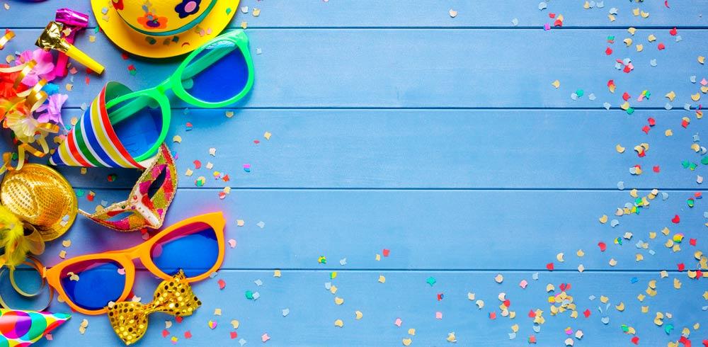 Party Karneval Fasching Konfetti