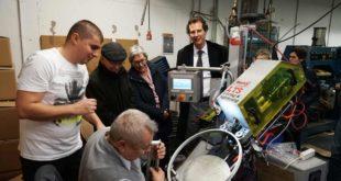 Bundestagsabgeordneter Olav Gutting (CDU) zu Gast bei Fahrradhersteller Campus in Forst
