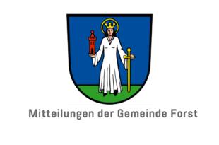Mitteilungen der Gemeinde Forst