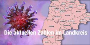 Coroan Aktuelle Zahlen im Landkreis