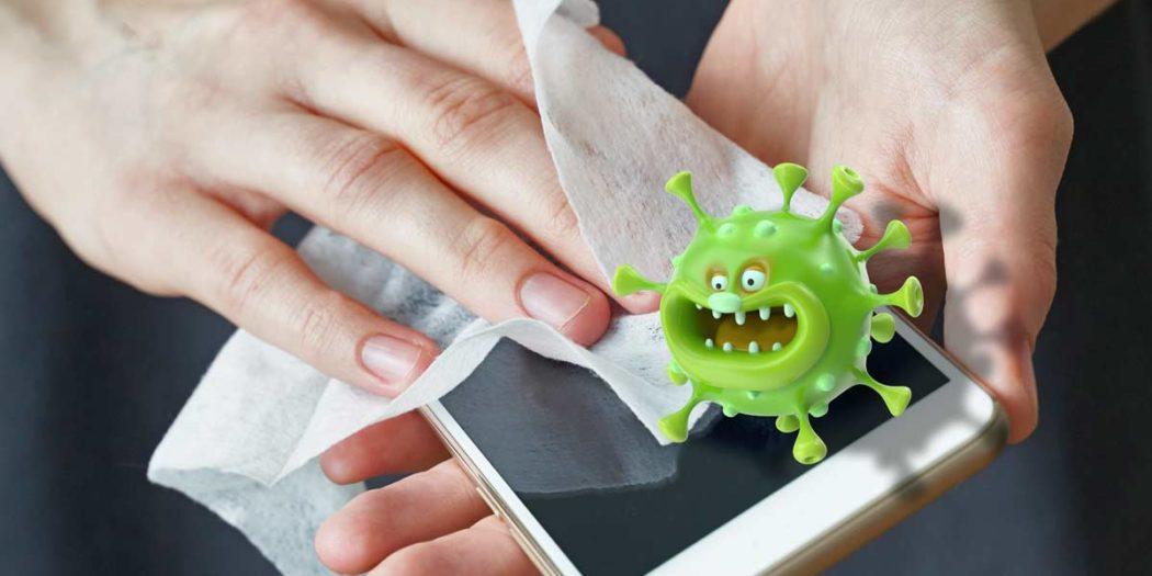 Viren Auf Dem Handy