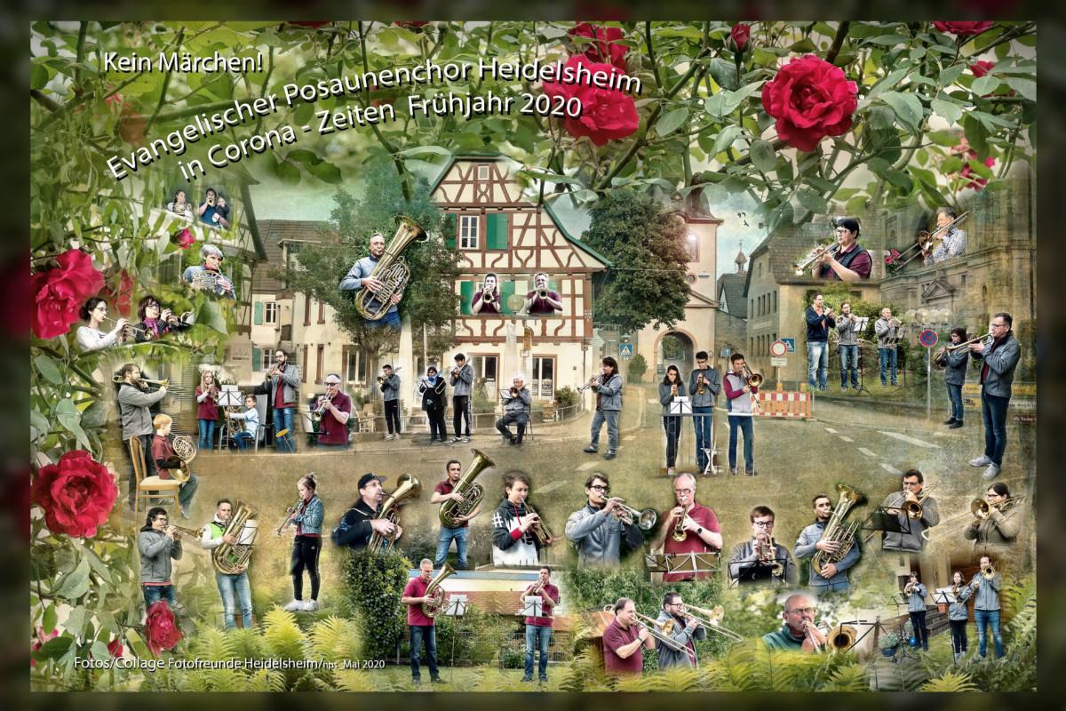 Posaunenchor-Collage-Fotofreunde-Heidelsheim-2020-Balkonmusik