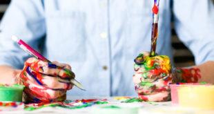 Kunst Malen Zeichnen Farbe