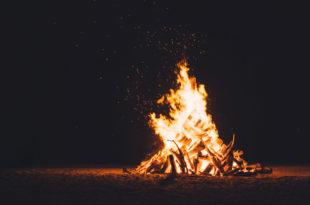Lagerfeuer Feuer Brand Flammen