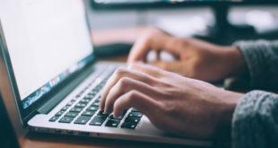 Online Laptop Computer Internet Arbeiten Arbeit