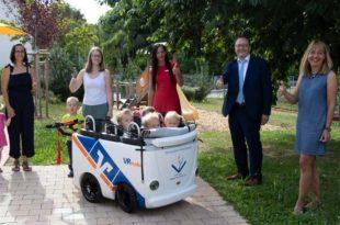 Gemeindekindergarten erhält VR-Kinderbus