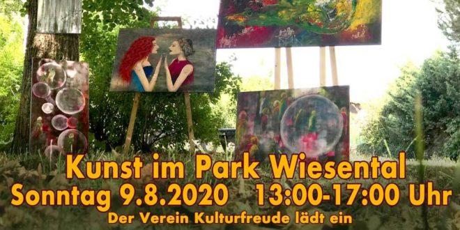 Kunst im Park Kulturfreunde Waghäusel