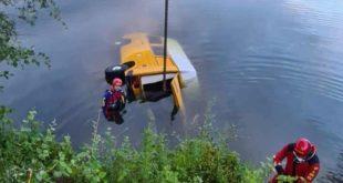 Campingbus Unfall Oberhausen