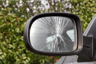 Auto Spiegel Autospiegel Beschädigung Vandalismus Außenspiegel