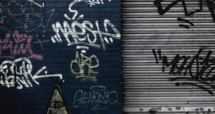 Graffitti Schmiererei Sachbeschädigung