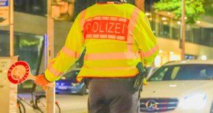 Polizeikontrolle in Karslruhe