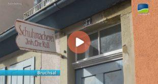 Filmbeitrag zum Schuhmacher-Rill-Hasu- ein kleines Museum in der Bruchsaler Klostergasse